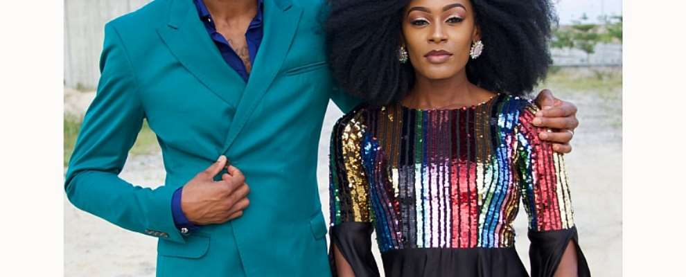 Big Brother's Mike Edwards & Wife Perri On Glam Africa Magazine'sfashion Cover