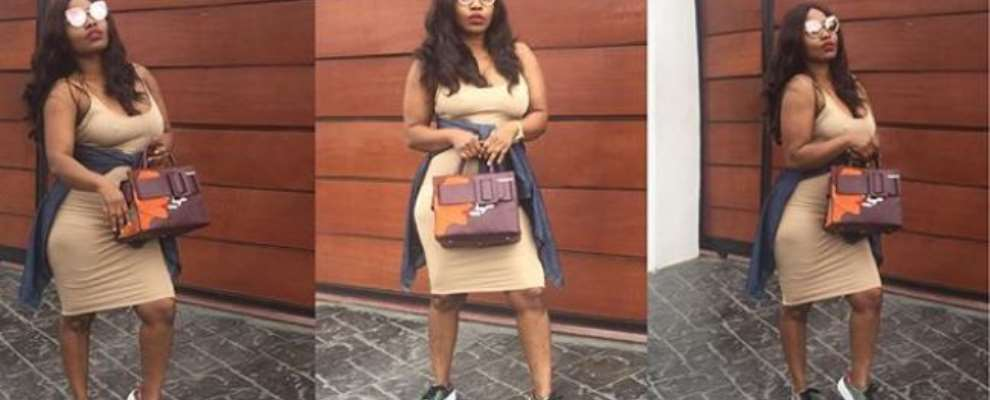 Nollywood Actress, Halima Abubakar Steps Out Without Bra