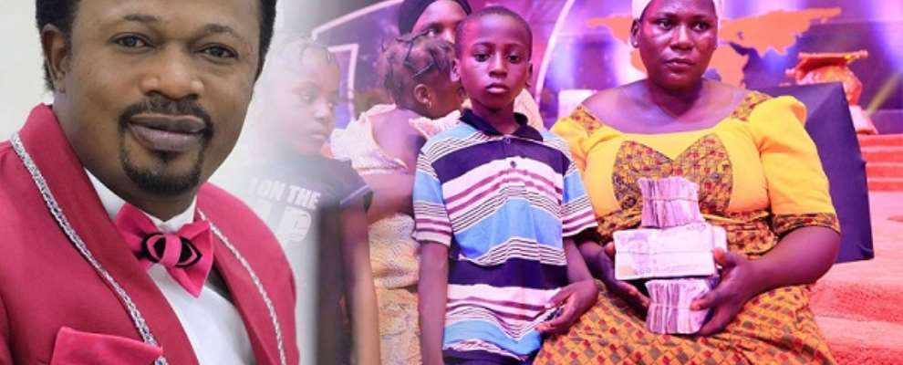 Bro. Joshua Iginla Gives Widow, Kids N1m, House And Scholarship