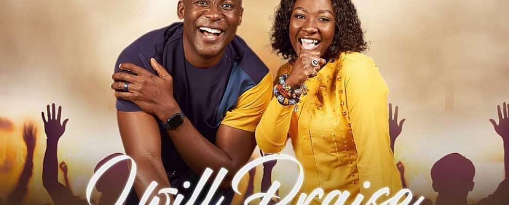 Nollywood Actor Benjamin Joseph, Us-based Gospel Artiste Nana Adwoa To Release New Song 'i Will Praise'