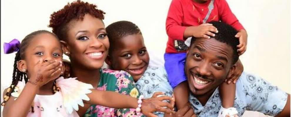 Comedian, Bovi With Wife Celebrates 8yrs Wedding Anniversary