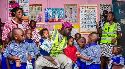Prince Kayode Akiolu: Lawmaker representing Lagos Constituency II visits Araromi Baptist school, Ereko Methodist school And Gives Pep Talk To Young Students.