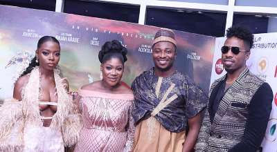 A Standing Ovation As Mercy Johnson Holds Star-studded Premiere For The Legend Of Inikpi In Lagos