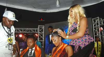 Queen Jennifer Ephraim Crowns Mr And Miss Unity Nigeria In Jos AsChief Judge Of The pageant