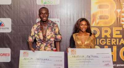 Damilare, Christiana now millionaires as they emerge winners in Big Dreams Nigeria talent show