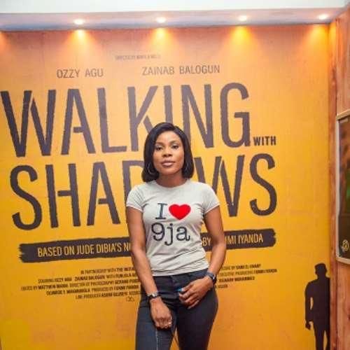 actor uzo simkpa at walking with shadows movie premiere