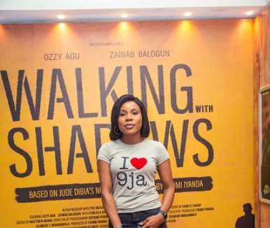 actor uzo simkpa at walking with shadows movie premiere