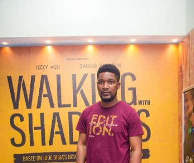 actor wole ojo at walking with shadows movie premiere