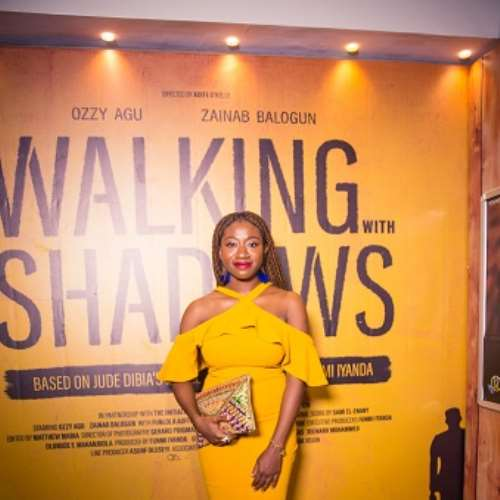 actor ade laoye at walking with shadows movie premiere