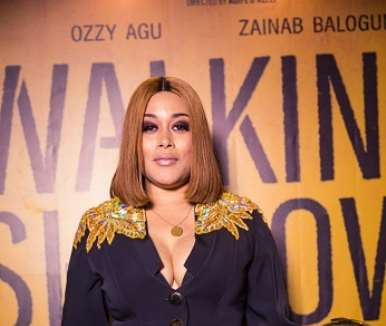 actor adunni ade at walking with shadows movie premiere