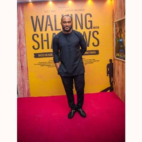actor blossom chukwujekwu at walking with shadows movie premiere