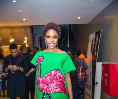 actor kemi lala akindoju at walking with shadows movie premiere