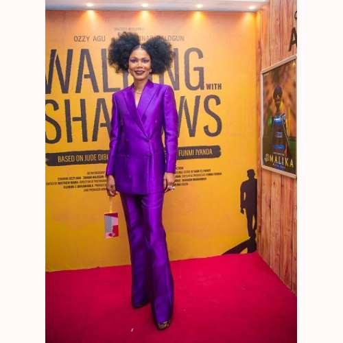 funmi iyanda executive producer of walking with shadows