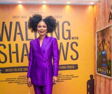 funmi iyanda executive producer of walking with shadows