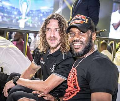 puyol and okocha