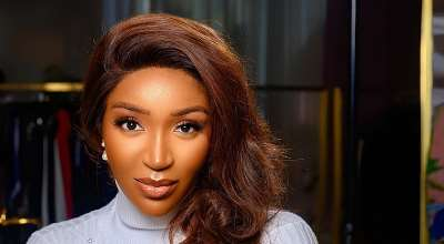 Idia Aisien is Serving Supermodel Vibes in Polo Avenue Campaign – PHOTOS