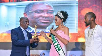FIRS Chairman Dr. Fowler, Governor Sule, FCT Minister Of State,Others Honoured At Democracy Heroes Award