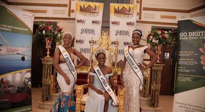 Meet The New Miss Africa Great Britain Chinyanta Kabaso From Zambia
