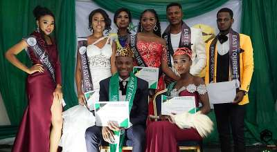 Victory Emeje and Charity ifeoma onu crowned King and Queen of SouthEast Nigeria 2019.