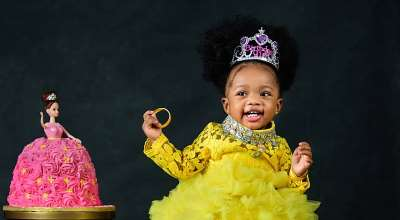 Ex Beauty Queen Glory Brown's daughter stuns in new photos as sheclocks 1